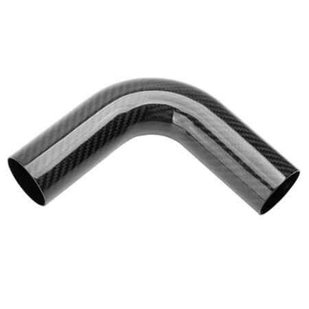 Standard carbon fibre pipe 45 degree 90 degree