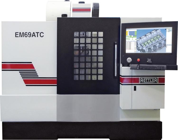Rottler EM69ATC Multi Purpose Vertical CNC Machining Center