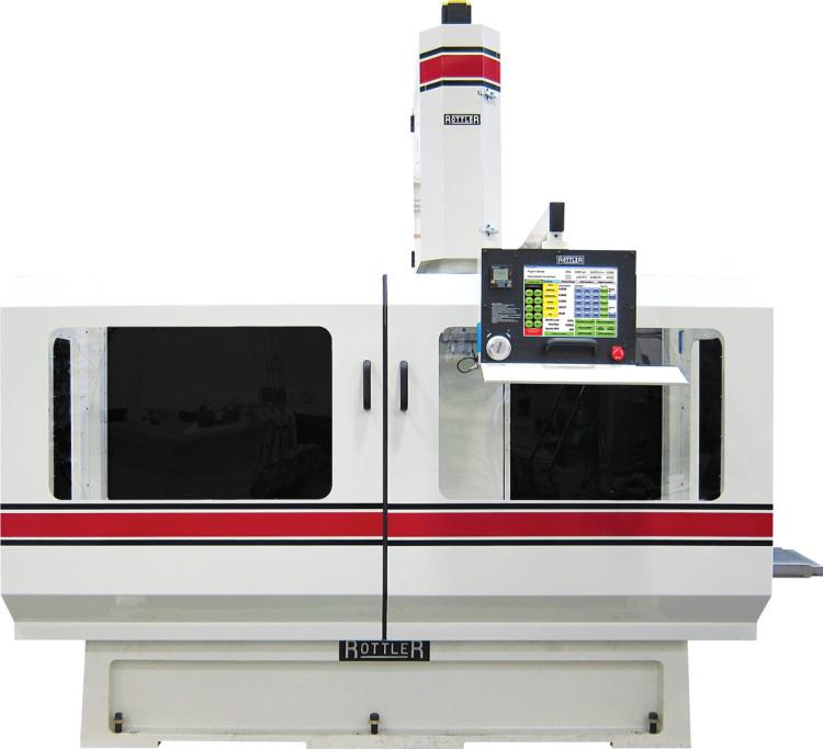 Rottler EM79A Multi-Purpose CNC Machining Center