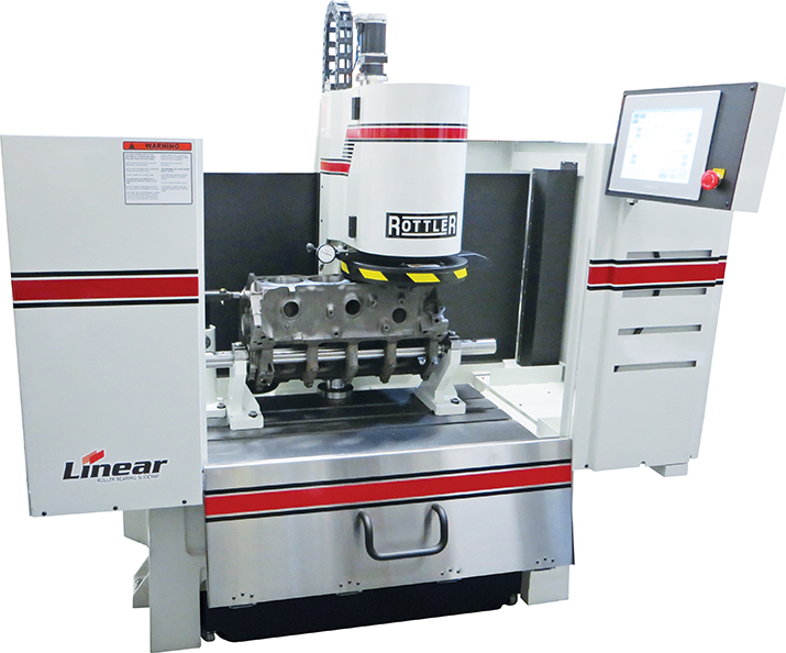 Rottler S85A CNC Automatic Surfacing Machine