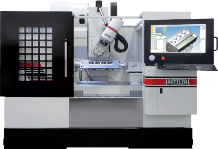 Rottler EM69P 5-Axis CNC Porting and Machining Center