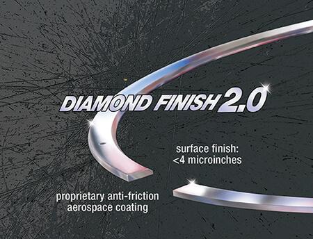 Diamond Finish 2 Piston Rings