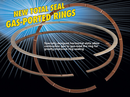 Gas Ported Piston Rings