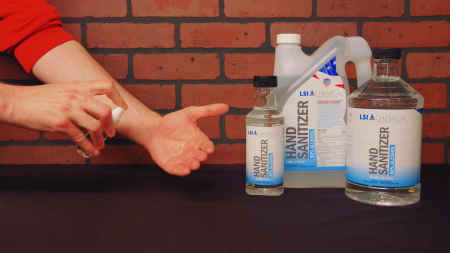 LSI Chemical 80% Alcohol Hand Sanitizer (Non-Gel)