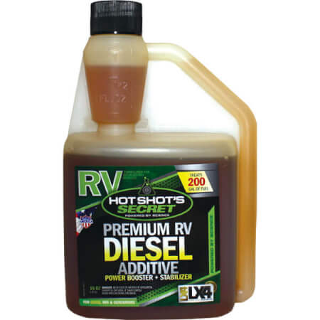 Hot Shot's Secret RV Diesel Additive with LX4
