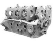 460 Siamese Bore Wet or Dry Sump Iron Engine Block