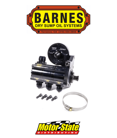 Barnes Dry Sump Oil Pump Systems