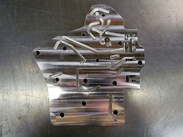 TH400 billet aluminum valve body