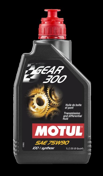 Motul Gear 300/Gear 300LS 75W90 Transmission and Diff Fluid