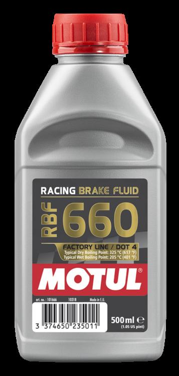 Motul RBF 600 / RBF 660 Racing Brake Fluid