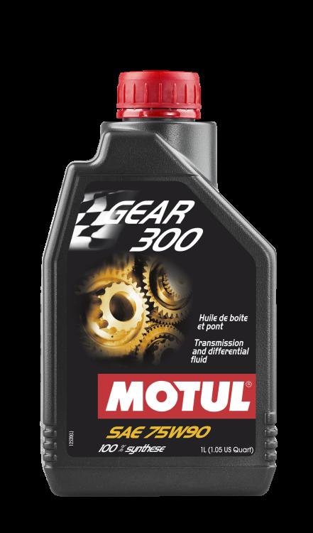 Motul Gear 300 / Gear 300 LS 75W90 Trans and Diff Fluid