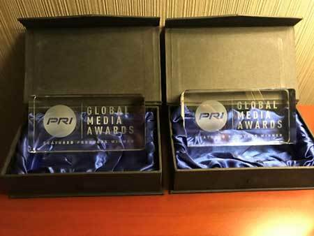 2x 2019 PRI Global Media Award Winner PTS-2G