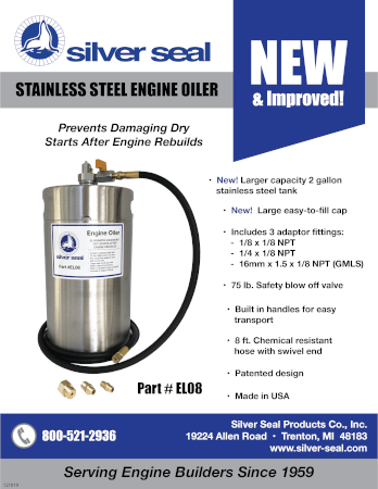 Stainless Steel Engine Oiler