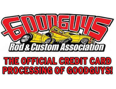 The Official Credit Card Processing of Goodguys