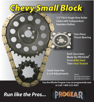 Chevy Small Block Timing Sets.