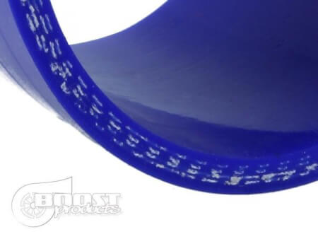 """Silicone T-piece Adapter 76mm (3"""") ID/25mm (1"""") Br ID/Blue"""