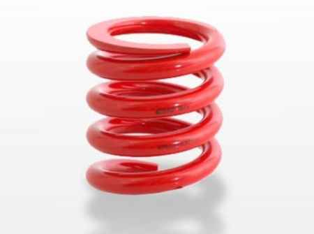Open Helix Circle Track Springs
