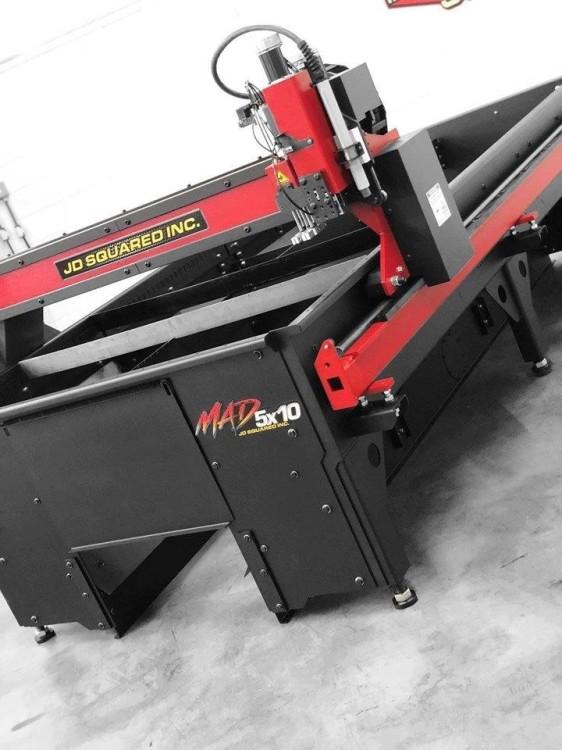 MAD Series CNC Plasma Tables