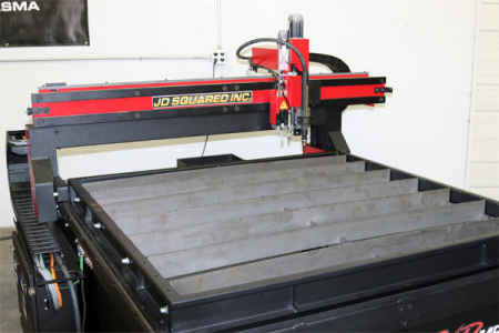 JD Squared PVD Multi-Platform CNC Cutting Tables
