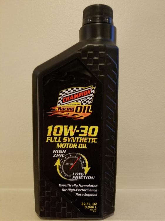 10W30 Full Synthetic Racing Oil