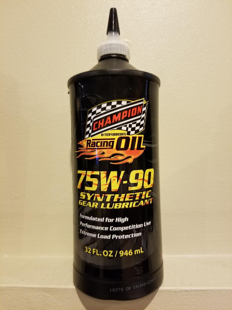 75W90 Full Synthetic Gear Oil