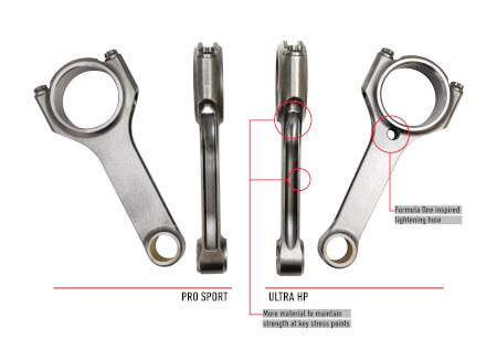 ULTRA HP Pro Sport Stroker H-Beams