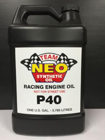 P-40 Racing Engine Oil