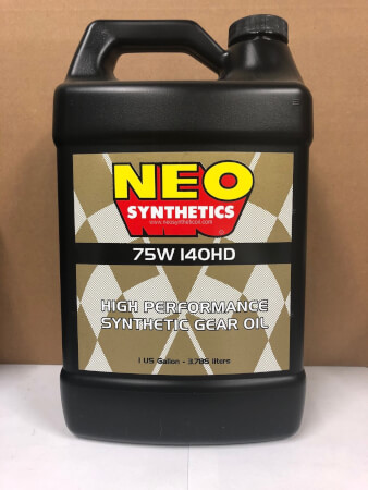 75W 140HD High Performance Synthetic Gear Oil