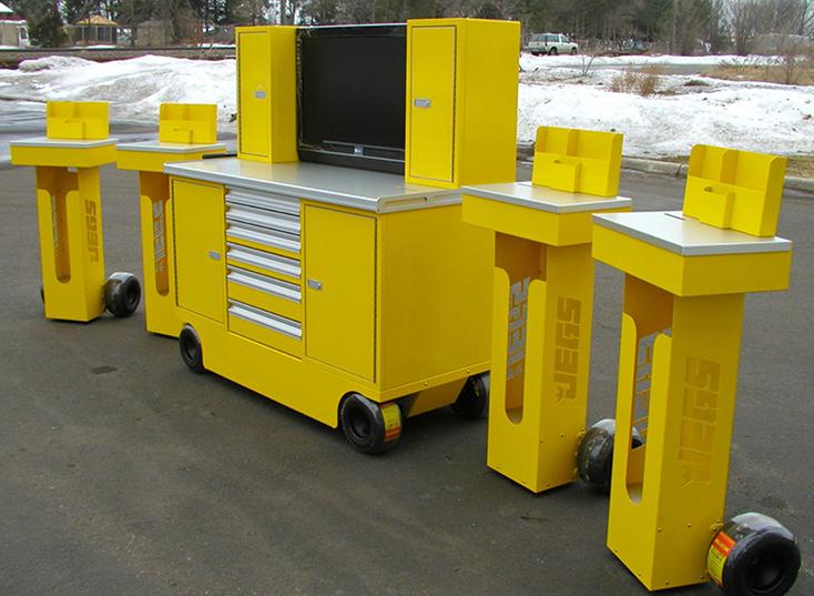 Arrow Pit Carts