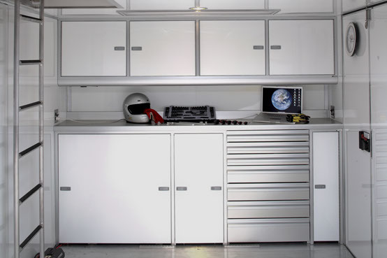 Race Trailer Cabinets