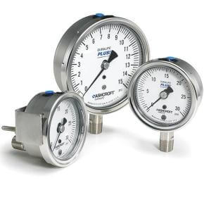 1009 Duralife® 2.5/3.5 Inch Pressure Gauge