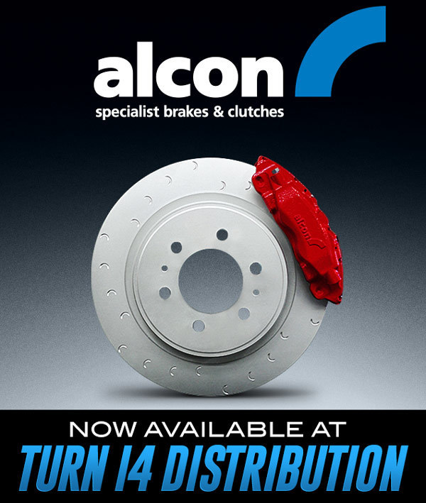 Alcon Now Available at Turn 14 Distribution!