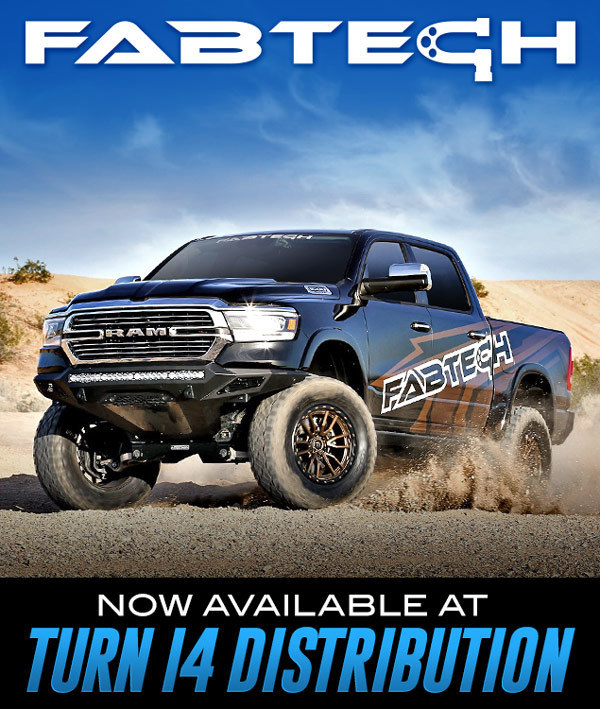 Fabtech Now Available at Turn 14 Distribution!