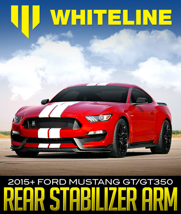 Whiteline Rear Stabilizer Arm: 2015+ Ford Mustang GT/GT350