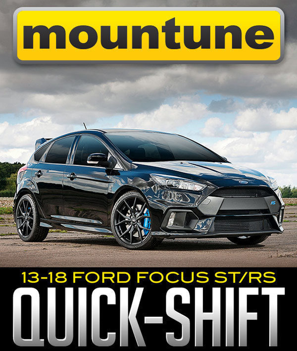 mountune Quick-Shift: 2013–2018 Ford Focus ST/RS