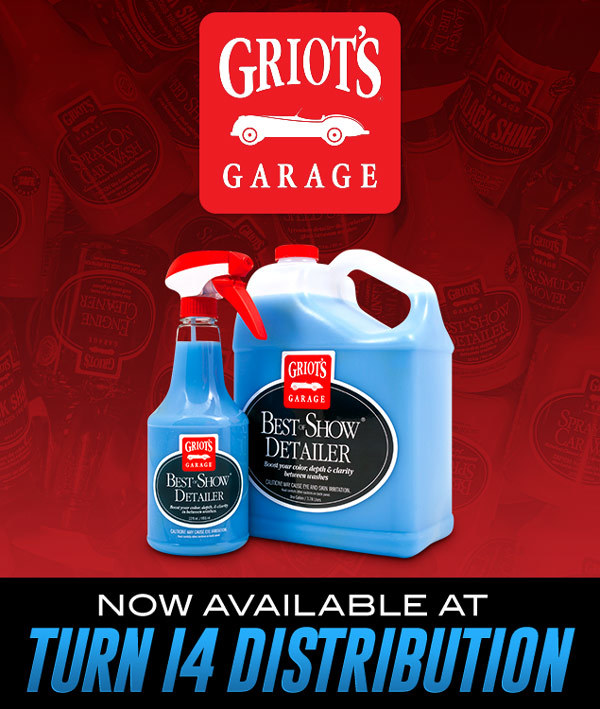 Griot's Garage Now Available at Turn 14 Distribution!