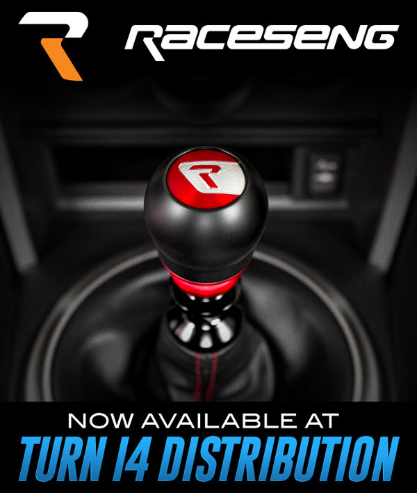 Raceseng Now Available at Turn 14 Distribution!