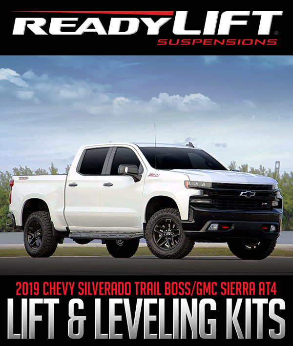 ReadyLIFT Lift & Leveling Kits: 2019 Chevy/GMC Applications