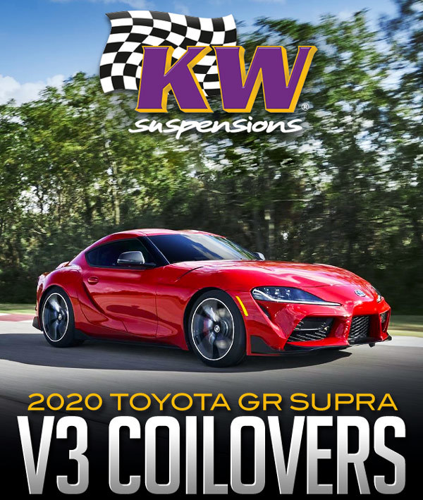 KW Suspensions V3 Coilover Kit: 2020 Toyota GR Supra