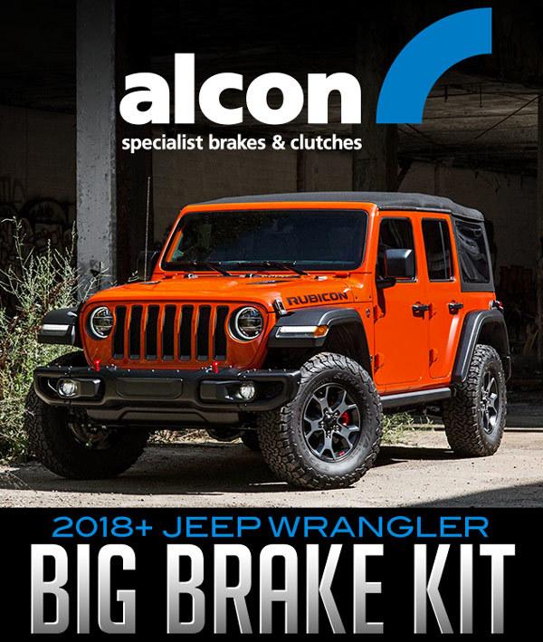 Alcon Big Brake Kit: 2018+ Jeep Wrangler