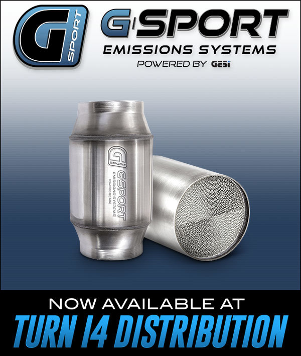G-Sport Emissions Systems at Turn 14 Distribution!