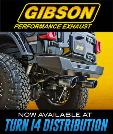 Gibson Performance Exhaust at Turn 14 Distribution!