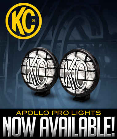 KC HiLiTES Apollo Pro Lights Now Available!