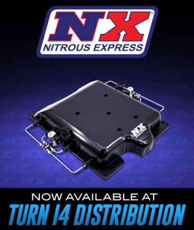 Nitrous Express at Turn 14 Distribution!