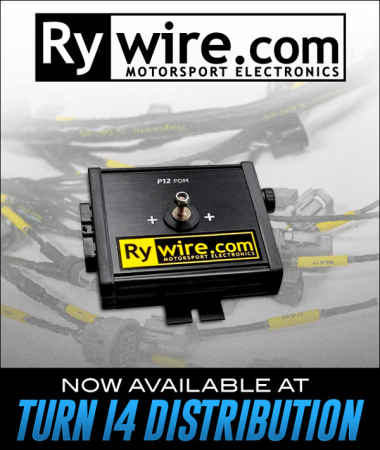 Rywire Motorsports Electronics at Turn 14 Distribution!