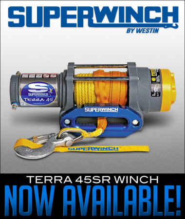 Superwinch Terra 45SR Winch Now Available!