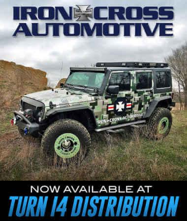 Iron Cross Automotive at Turn 14 Distribution!