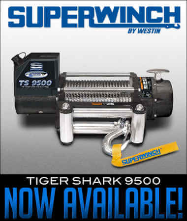 Superwinch Tiger Shark 9500 Now Available!