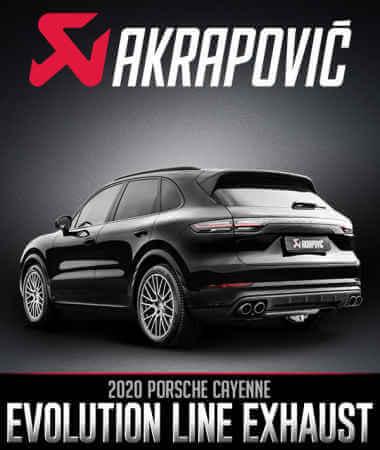 Akrapovič Evolution Exhaust System: 2020 Porsche Cayenne
