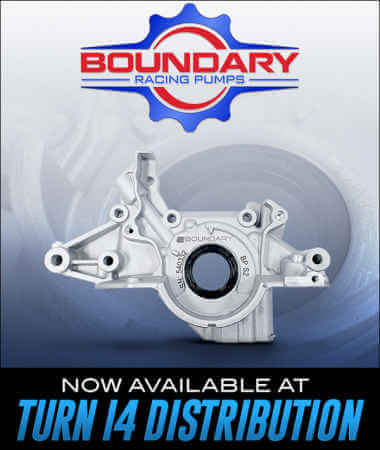 Boundary Racing Pumps at Turn 14 Distribution!
